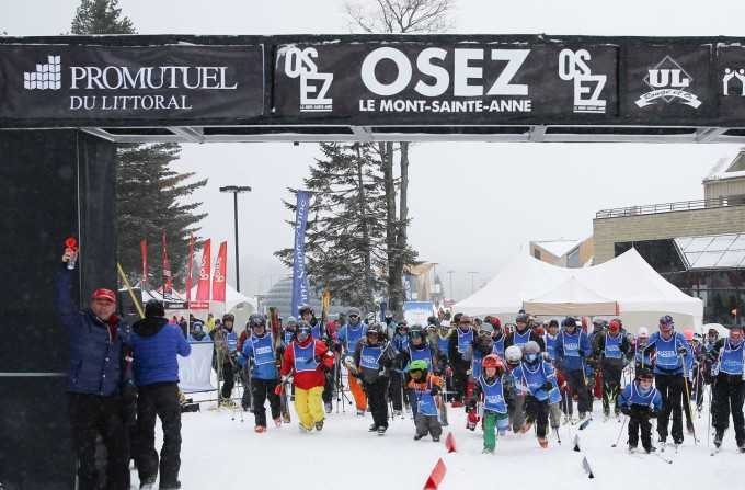 Osez le Mont-Sainte-Anne: c'estreparti!