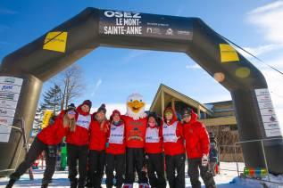 OSEZ le Mont-Sainte-Anne permet d'amasser 115 000$